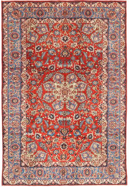 Kom Sherkat Farsh Dywan 208X305 Orientalny Tkany Ręcznie Ciemnoczerwony/Rdzawy/Czerwony (Wełna, Persja/Iran)