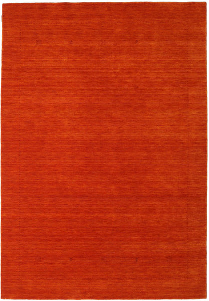 Loribaf Loom Giota - Narancssárga Szőnyeg 190X290 Modern Rozsdaszín/Piros (Gyapjú, India)