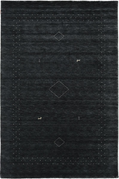 Loribaf Loom Alfa - Musta / Harmaa-matto CVD17977