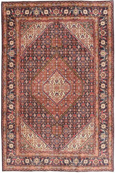 Ardabil Alfombra 198X297 Oriental Hecha A Mano Marrón/Marrón Oscuro (Lana, Persia/Irán)