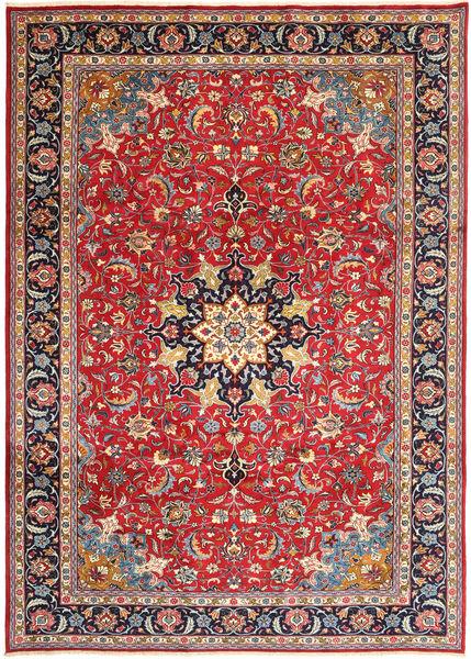 Mashad Matto 243X335 Itämainen Käsinsolmittu Ruoste/Violetti (Villa, Persia/Iran)