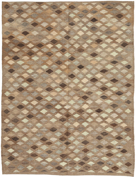 Kilim Afghan Old Style Rug 173X231 Authentic  Oriental Handwoven Brown/Light Grey (Wool, Afghanistan)