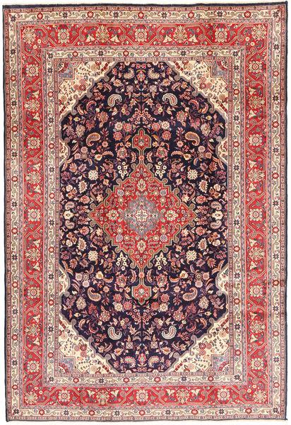 Hamadan#Shahrbaf Dywan 220X320 Orientalny Tkany Ręcznie Brązowy/Ciemnofioletowy (Wełna, Persja/Iran)