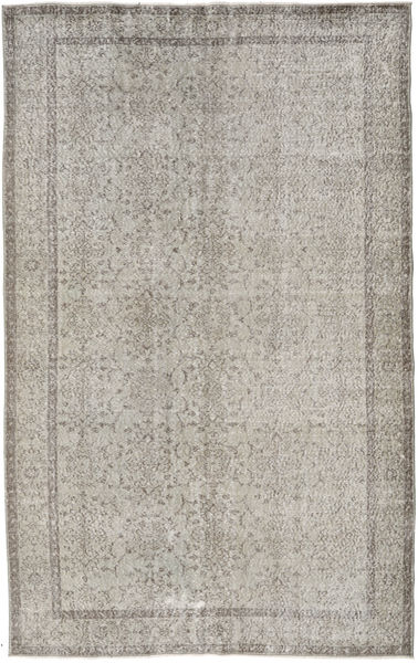 Colored Vintage Rug 187X301 Authentic  Modern Handknotted Light Grey (Wool, Turkey)