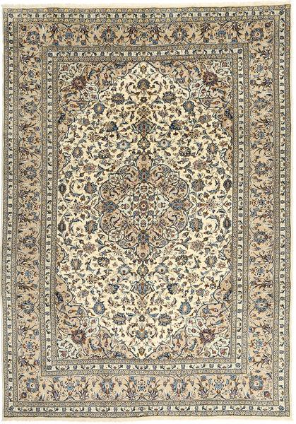 Keshan Matto 240X337 Itämainen Käsinsolmittu Vaaleanruskea/Beige (Villa, Persia/Iran)
