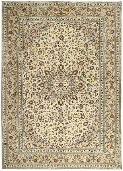 Keshan Matto 295X400 Itämainen Käsinsolmittu Vaaleanruskea/Beige Isot (Villa, Persia/Iran)