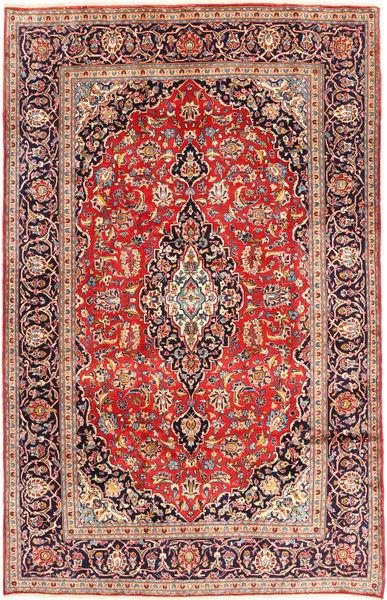 Keshan Matto 192X310 Itämainen Käsinsolmittu Ruoste/Beige (Villa, Persia/Iran)