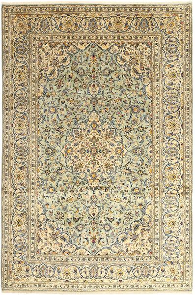 Keshan Matto 242X366 Itämainen Käsinsolmittu Beige/Vaaleanruskea (Villa, Persia/Iran)