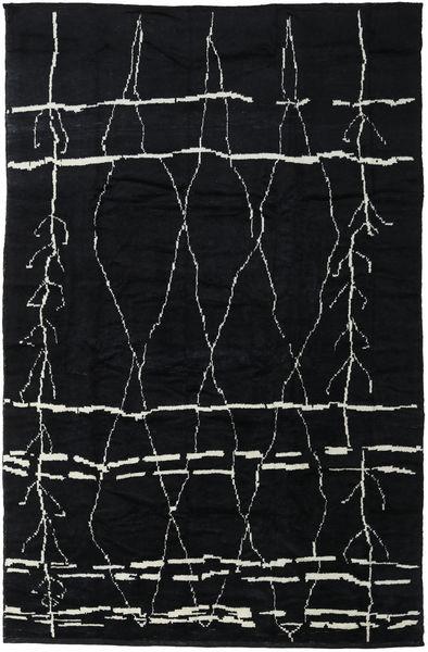 Handknotted Berber シャギー 絨毯 271X416 モダン 手織り 濃いグレー 大きな (ウール, トルコ)