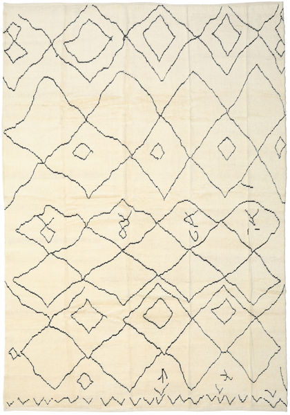 Handknotted Berber Shaggy Rug 275X400 Authentic  Modern Handknotted Beige Large (Wool, Turkey)