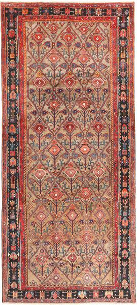 Koliai Matto 180X405 Itämainen Käsinsolmittu Käytävämatto Ruskea/Vaaleanruskea (Villa, Persia/Iran)