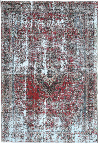 Colored Vintage Rug 200X300 Authentic  Modern Handknotted Light Purple/Light Grey (Wool, Persia/Iran)