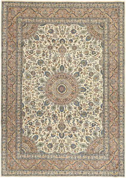 Keshan Patina Alfombra 242X338 Oriental Hecha A Mano Marrón Claro/Gris Oscuro (Lana, Persia/Irán)
