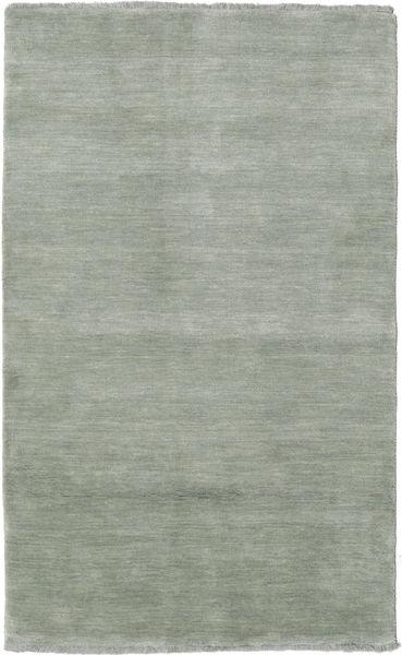 Handloom Fringes - Soft Teal Alfombra 100X160 Moderna Gris Claro (Lana, India)