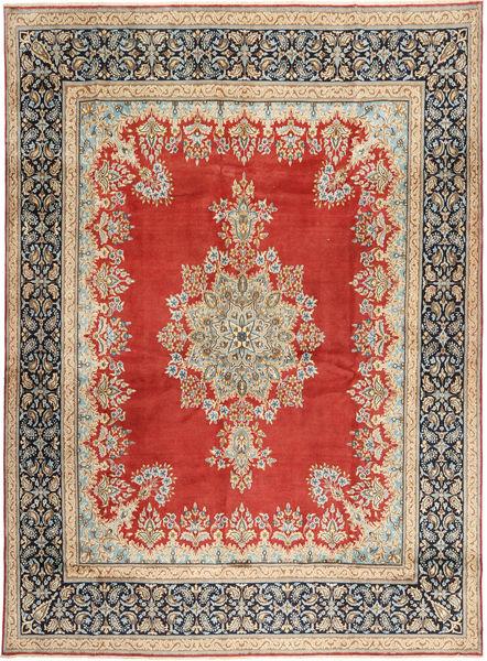 Kerman Matto 290X390 Itämainen Käsinsolmittu Ruoste/Vaaleanruskea Isot (Villa, Persia/Iran)