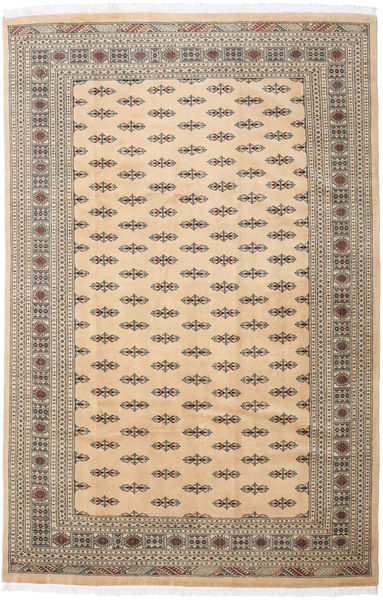 Pakistan Bokhara 3Ply Rug 205X310 Authentic  Oriental Handknotted Beige/Light Grey (Wool, Pakistan)