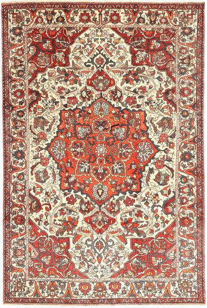 Baktjar Dywan 218X322 Orientalny Tkany Ręcznie Beżowy/Ciemnobrązowy (Wełna, Persja/Iran)