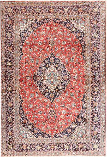 Keshan Matto 310X450 Itämainen Käsinsolmittu Vaaleanruskea/Vaaleanharmaa Isot (Villa, Persia/Iran)