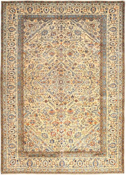 Keshan Matto 296X410 Itämainen Käsinsolmittu Vaaleanruskea/Beige Isot (Villa, Persia/Iran)