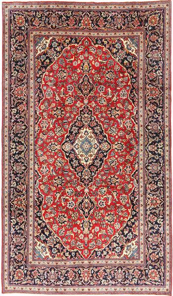 Keshan Matto 197X334 Itämainen Käsinsolmittu Tummanvioletti/Ruskea (Villa, Persia/Iran)