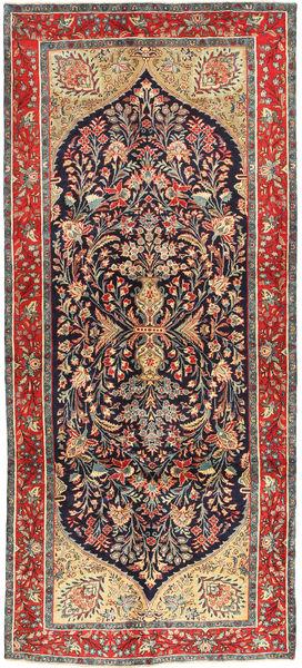 Koliai Vloerkleed 145X330 Echt Oosters Handgeknoopt Tapijtloper Donkergrijs/Bruin (Wol, Perzië/Iran)