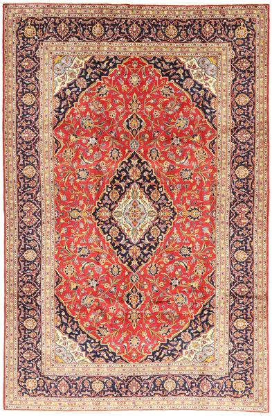 Keshan Matto 200X305 Itämainen Käsinsolmittu Vaaleanruskea/Ruskea (Villa, Persia/Iran)
