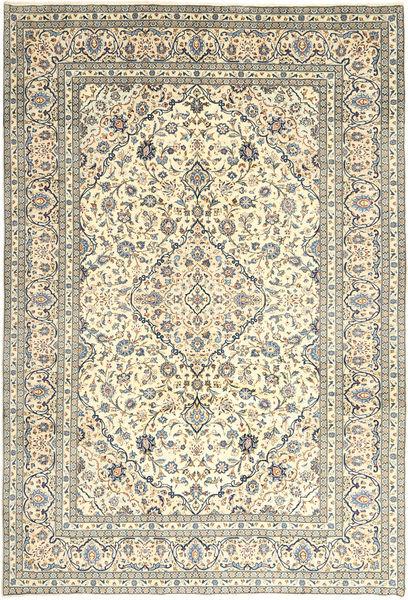 Keshan Matto 240X350 Itämainen Käsinsolmittu Beige/Vaaleanharmaa (Villa, Persia/Iran)