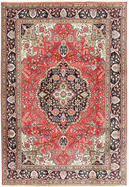 Tabriz Rug 200X287 Authentic  Oriental Handknotted Light Brown/Beige (Wool, Persia/Iran)