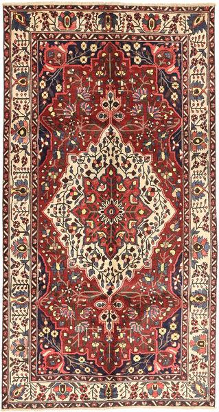 Bakhtiar Alfombra 157X296 Oriental Hecha A Mano Rojo Oscuro/Marrón (Lana, Persia/Irán)