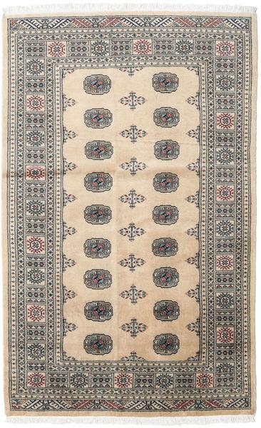 Pakistan Bokhara 2Ply Matto 131X208 Itämainen Käsinsolmittu Beige/Vaaleanruskea (Villa, Pakistan)