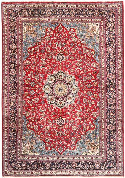 Mashad Rug 250X355 Authentic  Oriental Handknotted Purple/Crimson Red Large (Wool, Persia/Iran)