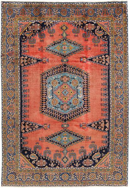 Wiss Teppe 230X333 Ekte Orientalsk Håndknyttet Lysbrun/Lilla (Ull, Persia/Iran)