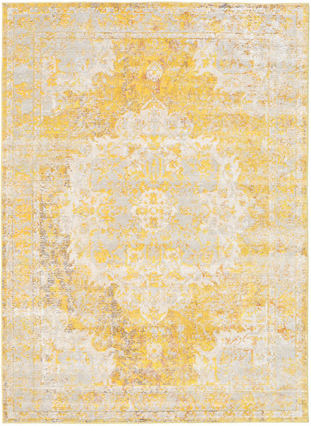 Nadia - Yellow Rug 160X230 Modern Beige/Yellow ( Turkey)