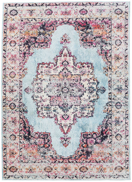 Tella Rug 160X230 Modern White/Creme/Light Blue ( Turkey)