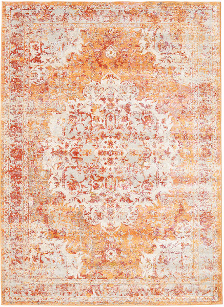 Nadia - Orange Rug 140X200 Modern Beige/White/Creme ( Turkey)