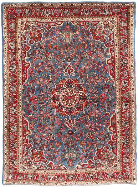 Bidjar Takab/Bukan Matto 103X148 Itämainen Käsinsolmittu Ruskea/Tummansininen (Villa, Persia/Iran)