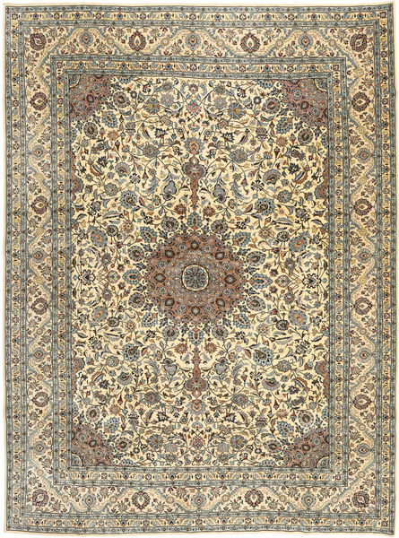 Najafabad Patina Rug 300X390 Authentic  Oriental Handknotted Beige/Light Brown Large (Wool, Persia/Iran)