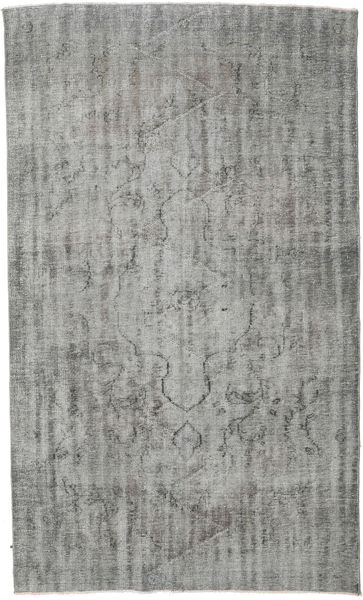 Colored Vintage Rug 172X293 Authentic  Modern Handknotted Light Grey/Dark Grey (Wool, Turkey)