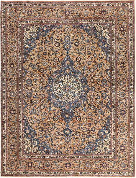 Keshan Patina Rug 292X385 Authentic  Oriental Handknotted Light Brown/Dark Grey Large (Wool, Persia/Iran)
