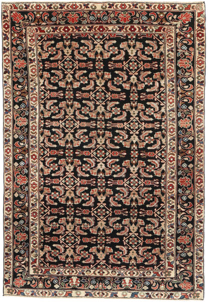 Tabriz Patina Alfombra 165X240 Oriental Hecha A Mano Marrón Claro/Marrón Oscuro (Lana, Persia/Irán)
