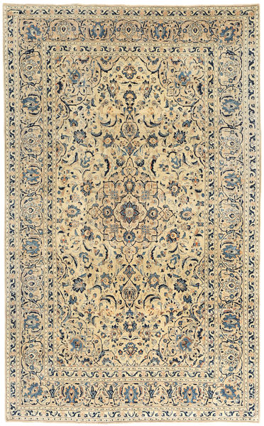 Keshan Patina Teppe 190X305 Ekte Orientalsk Håndknyttet Lysbrun/Mørk Beige (Ull, Persia/Iran)