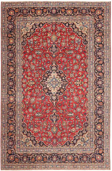 Keshan Patina Rug 237X363 Authentic  Oriental Handknotted Dark Brown/Light Brown (Wool, Persia/Iran)