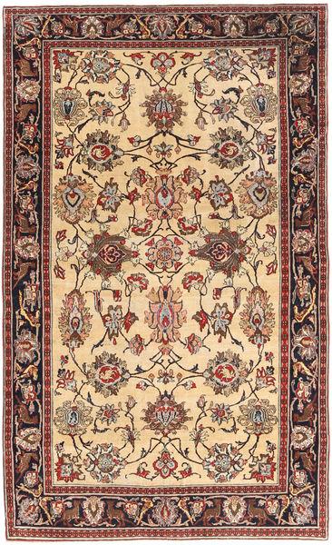 タブリーズ パティナ 絨毯 150X248 オリエンタル 手織り 薄茶色/深紅色の (ウール, ペルシャ/イラン)