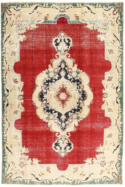 Tabriz Patina Alfombra 165X250 Oriental Hecha A Mano Beige/Óxido/Roja (Lana, Persia/Irán)