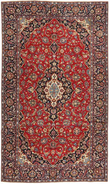 Tabriz Patina Matta 205X342 Äkta Orientalisk Handknuten Mörkröd/Brun (Ull, Persien/Iran)