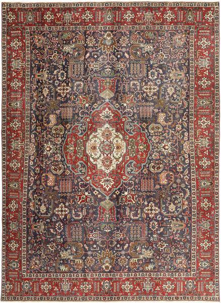 Tabriz Patina Alfombra 246X330 Oriental Hecha A Mano Marrón Claro/Negro (Lana, Persia/Irán)