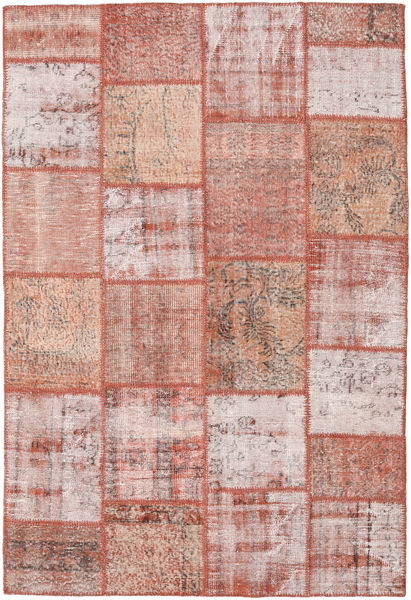 Patchwork Rug 157X231 Authentic  Modern Handknotted Light Pink/Brown (Wool, Turkey)