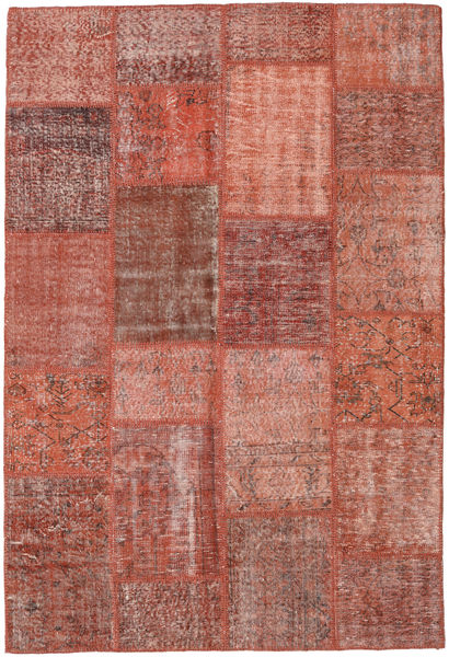 Patchwork Rug 158X233 Authentic  Modern Handknotted Brown/Light Brown (Wool, Turkey)