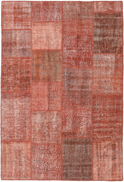 Patchwork Rug 157X232 Authentic  Modern Handknotted Brown/Light Brown (Wool, Turkey)