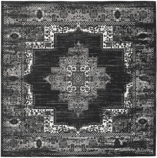 Vintage Vega - Anthracite / Grey rug RVD20969